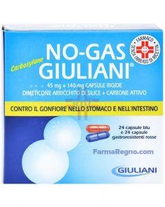 NOGAS GIULIANI CARBOSYLANE*48 cps 140 mg + 45 mg