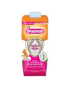 PLASMON NUTRIMUNE STAGE 3 BISCOTTO LIQUIDO 2 X 500 ML