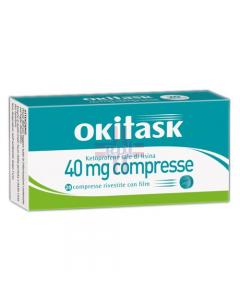 OKITASK*20 cpr riv 40 mg