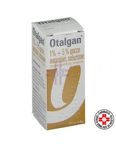 OTALGAN*gocce auricolari 6 g 5% + 1%