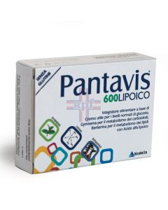 PANTAVIS 600 LIPOICO 20CPR
