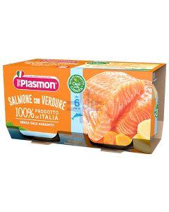 PLASMON OMOGENIZZATO SALMONE 4 X 80 G