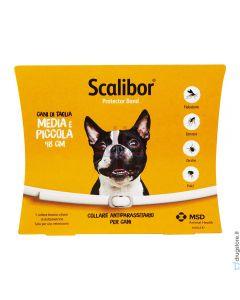 SCALIBOR PROTECTOR BAND*collare antiparassitario bianco 48 cm cani taglia media piccola