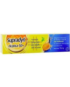 SUPRADYN RICARICA 50+ 15CPR EF