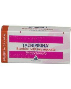 TACHIPIRINA*BB 10 supp 500 mg