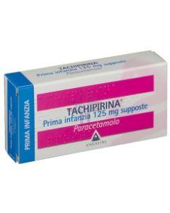TACHIPIRINA*PRIMA INFANZIA 10 supp 125 mg