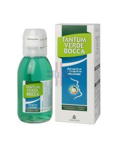 TANTUM VERDE BOCCA*collutorio 240 ml 22.5 mg/15 ml + 7.5 mg/15 ml