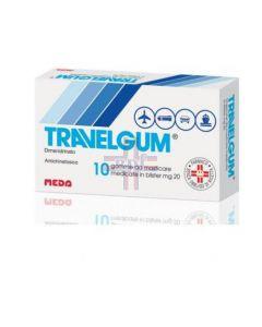 TRAVELGUM*10 gomme mast 20 mg