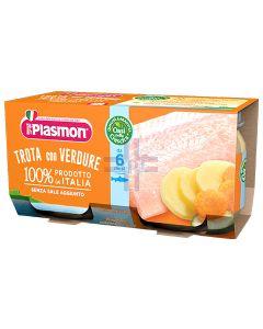 PLASMON TROTA CON VERDURE 4 X 80 G