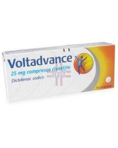 VOLTADVANCE*10 cpr riv 25 mg