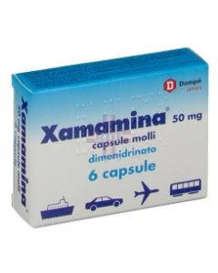 XAMAMINA*6 cps molli 50 mg